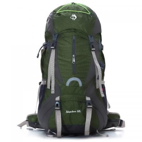Outdoor hiking bag camping backpacking backpacking ultralight with a waterproof backpack rain cover