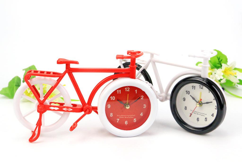 超大自行车模型 创意闹钟图片