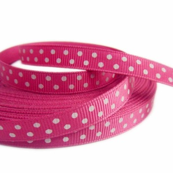 Manufacturer special printed dot Ribbon wholesale Ribbon DIY accessories children's hair accessories comb material
