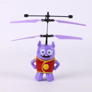 智能感应飞机 疯狂外星人小欧