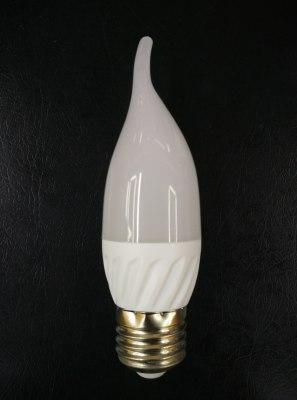 CIXING LED candle lamp bulb 5W energy-saving lamp bulb high-quality aluminum plastic