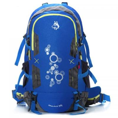 Outdoor backpack hiking riding mountaineering bag rain tear nylon