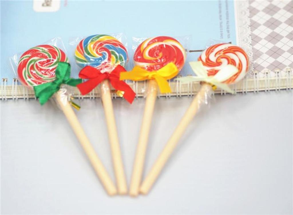 韩国文具可爱棒棒糖圆珠笔创意学生