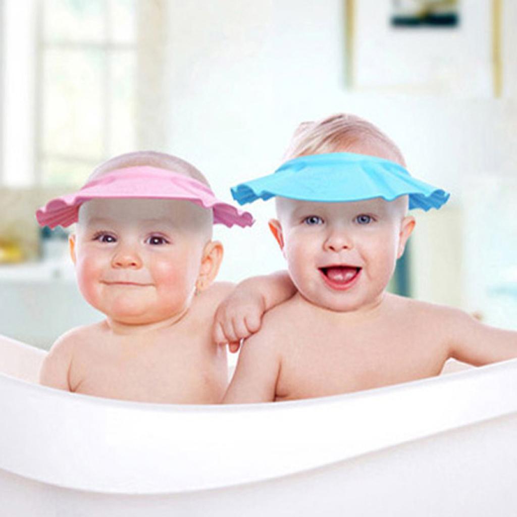洗发帽 可调节宝宝洗头帽 儿童浴帽婴儿洗澡帽防水帽批发