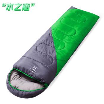 户外四季成人加厚保暖午休轻野营双人室内睡袋
