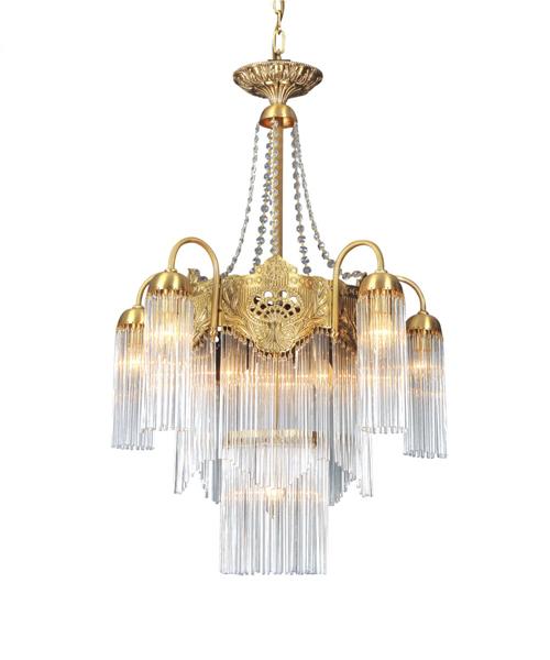 水晶全銅吊燈客廳餐廳會所酒店大堂吊燈燈具燈飾銅燈