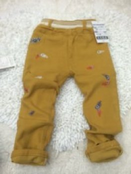 The little boy fall child cotton colored trousers