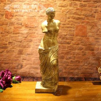 欧式家居饰品人物复古断臂维纳斯雕塑像工艺品