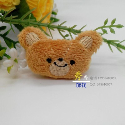 Factory direct cute little baby bear three-dimensional cartoon baby clothes accessories special