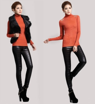 In the winter of 2015 New South Korean version are warm and thick velvet down trousers