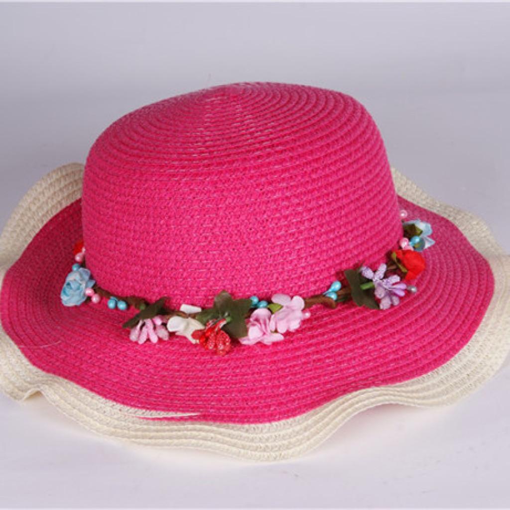 童帽子_童帽子夏 宝宝凉帽 儿童草帽遮阳帽太阳帽子