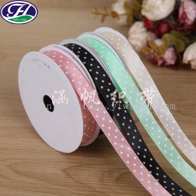 Small code packaging point of the wave point printing ribbon ribbon jewelry accessories