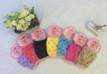 The latest 2015 Korean super soft plush baby fashion printing cuff