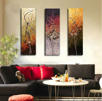 Decorative oil painting and painting of the home decoration art and crafts