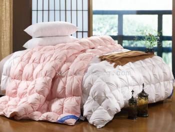 美人季新品冬被婚慶被單人被貢緞純棉被