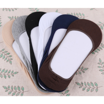 Women's  Korean style cotton socks thin solid color large size socks