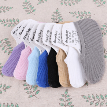 Fashion women's socks hollowed breathable autumn cotton socks