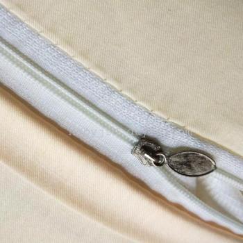 纯棉缘字枕套   手工刺绣全棉枕头套正品一对 48*74cm