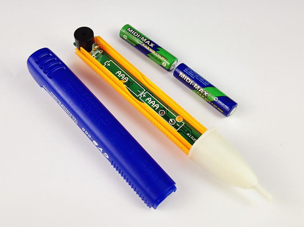 感应式测电笔声光报警感应电笔非接触验电笔
