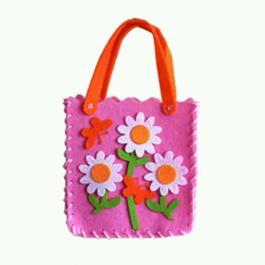 创意diy手工玩具卡通包包不织布环保材料儿童