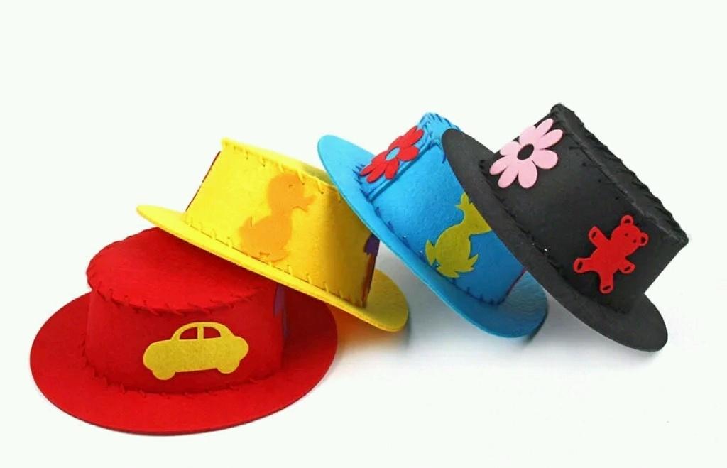 幼儿园创意diy手工玩具不织布环保材料儿童图片