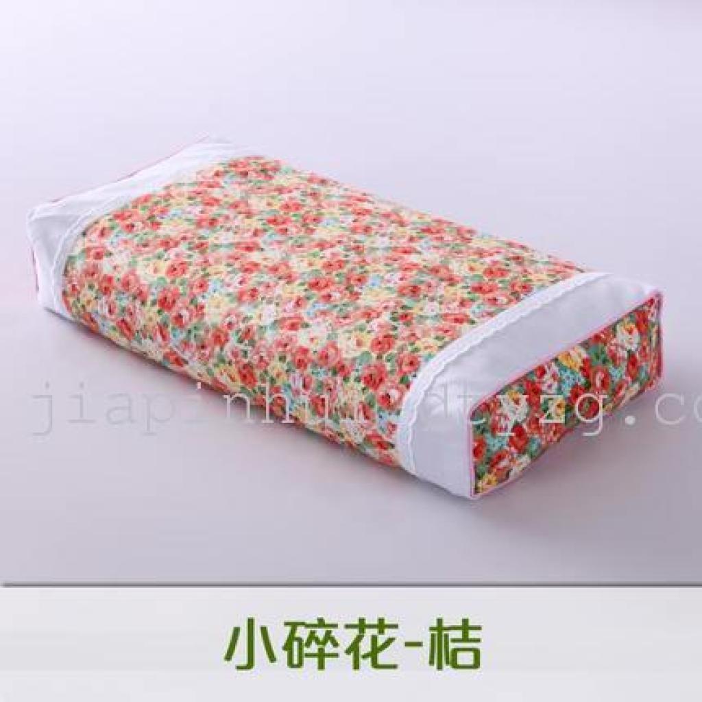 全棉荞麦皮枕头 护颈保健枕 韩式田园小碎花 午睡颈椎枕成人