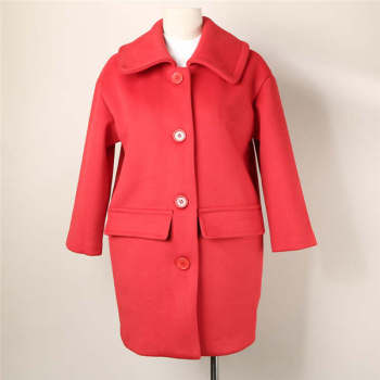 2015 new women in the long winter thickened double pocket lapel jacket