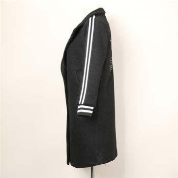 2015 new women in the long winter thickened suit collar shirt jacket windbreaker Shutiao