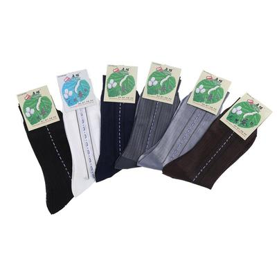 Male socks in spring and summer in the thin cylinder does not break on the male silkworm silk men wear stockings