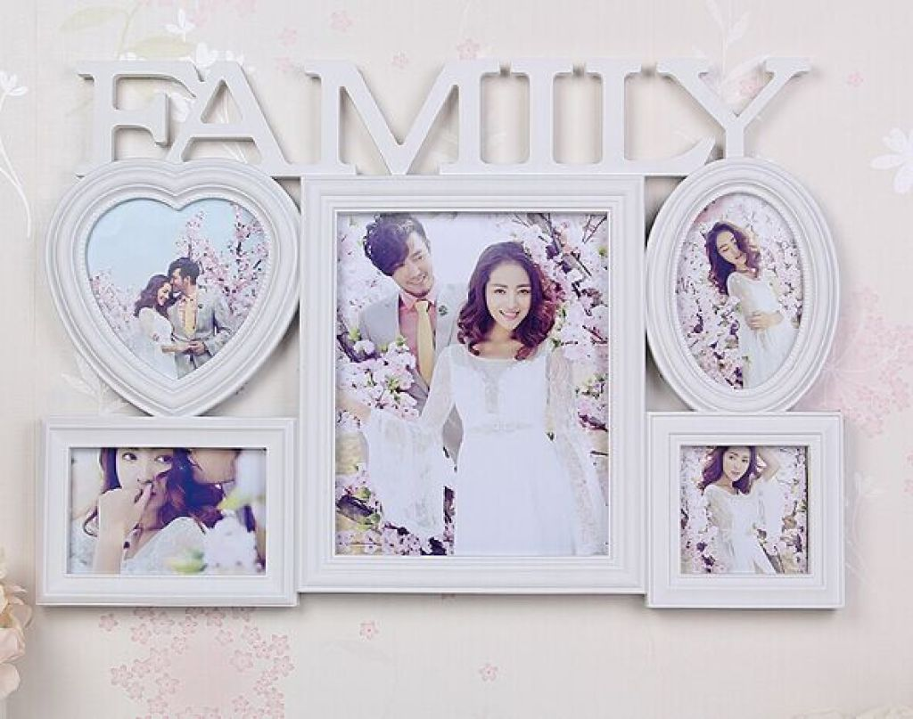 Supply European family picture frame hanging wall 10 inch circular ...