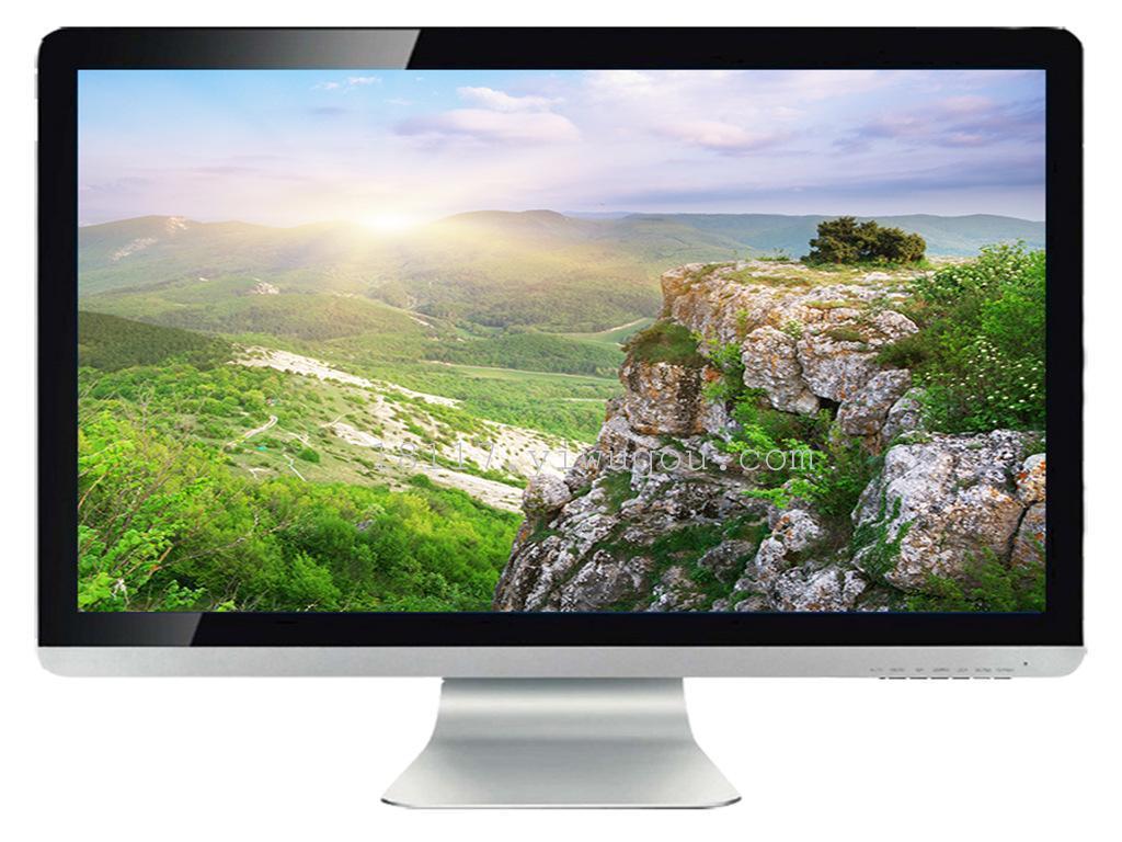 """24"""" 王牌led液晶电视机 苹果款 铝合金 电脑显示器"""