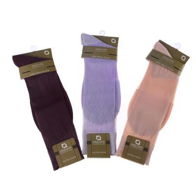 Foreign male silk stockings socks breathable deodorant solid silk stockings wholesale card nylon stockings