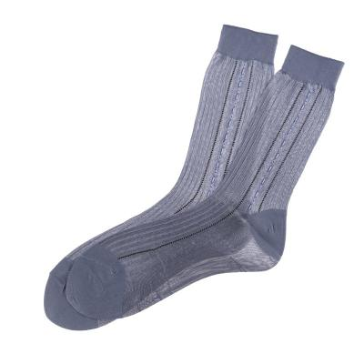 The elderly elderly stockings socks are not smooth. Men's feet relent relent old jacquard socks