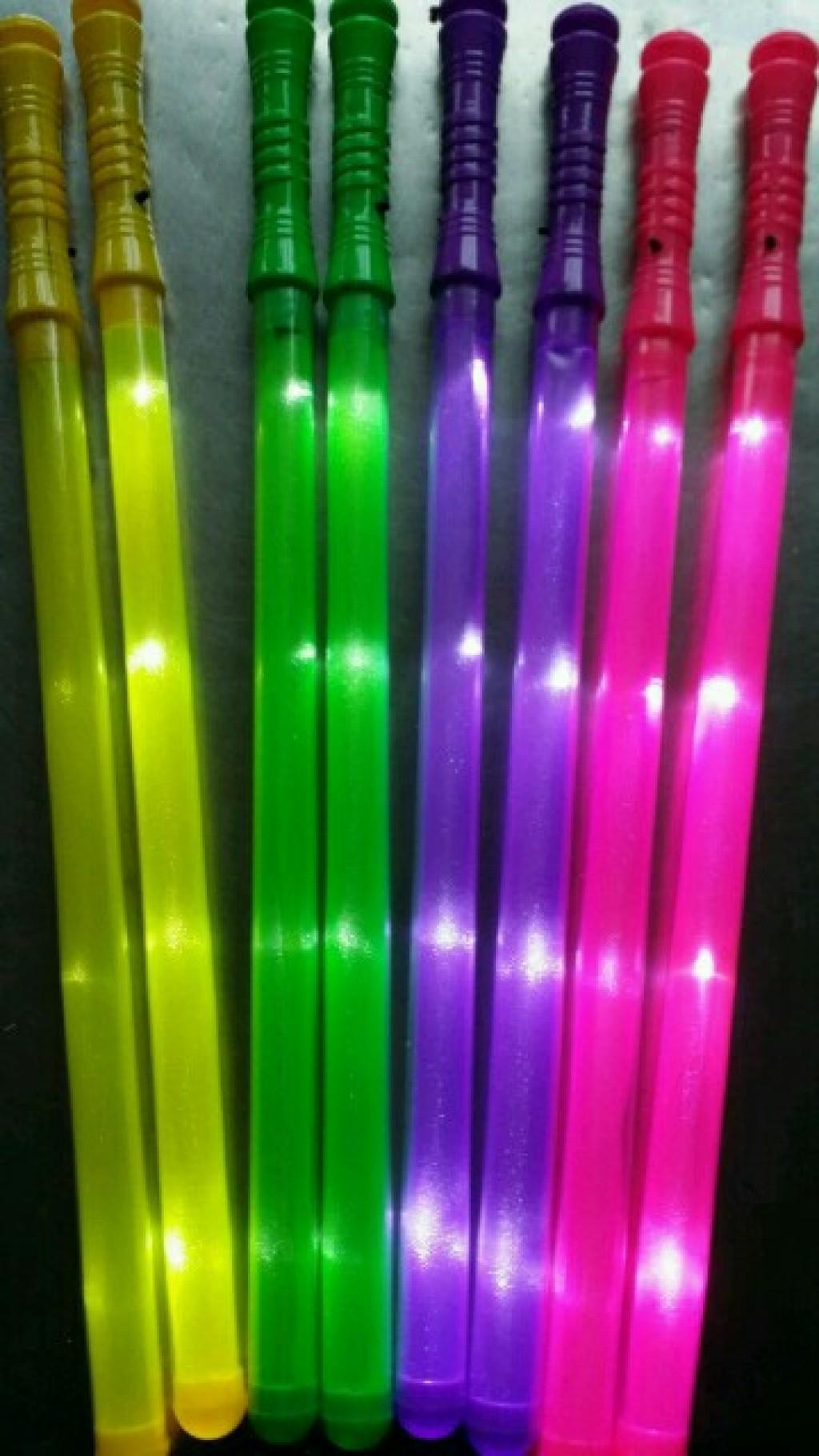 电子彩虹棒图片