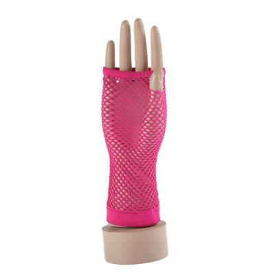 Ladies Sexy Fishnet Gloves elegant lace gloves color small mesh mesh