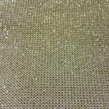 Gold White Diamond Diamond aluminum mesh garment accessories