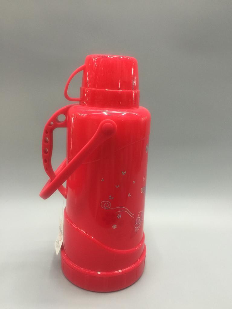 家用老式热水瓶 保温杯 塑料外壳玻璃内胆图片