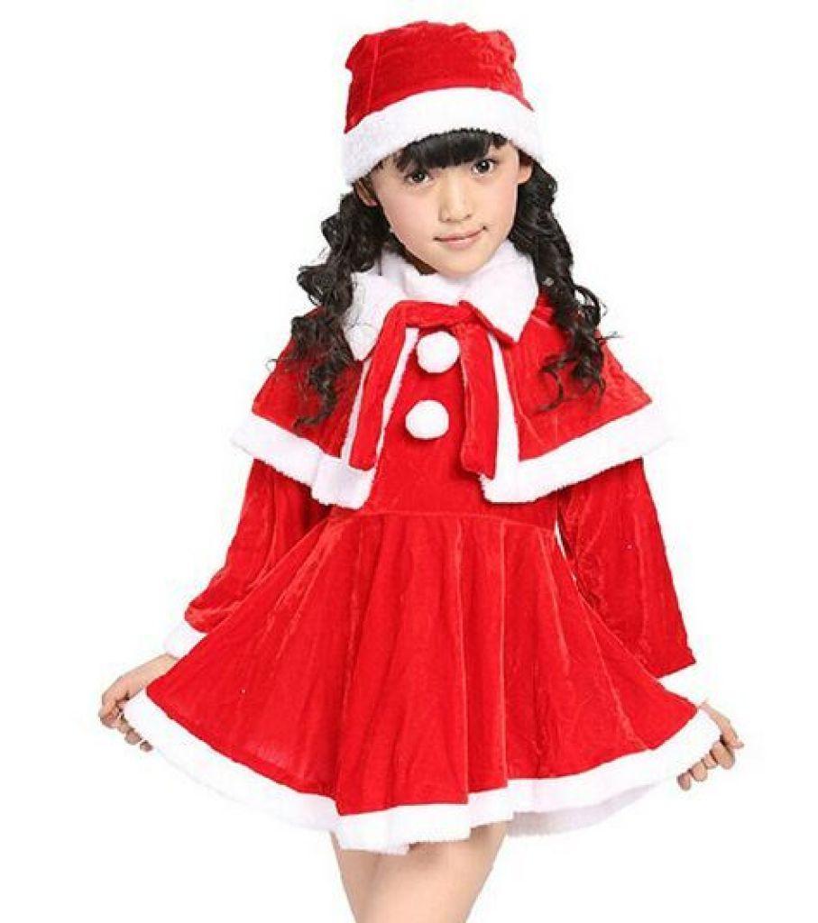 儿童圣诞节服装 男女童圣诞服饰 表演服套装童装圣诞老人