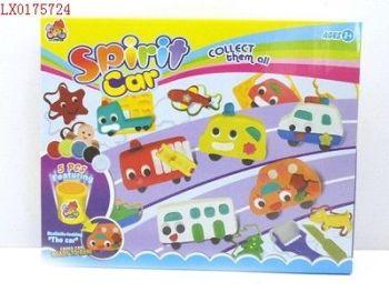 lx0175724盒装彩泥小精灵汽车