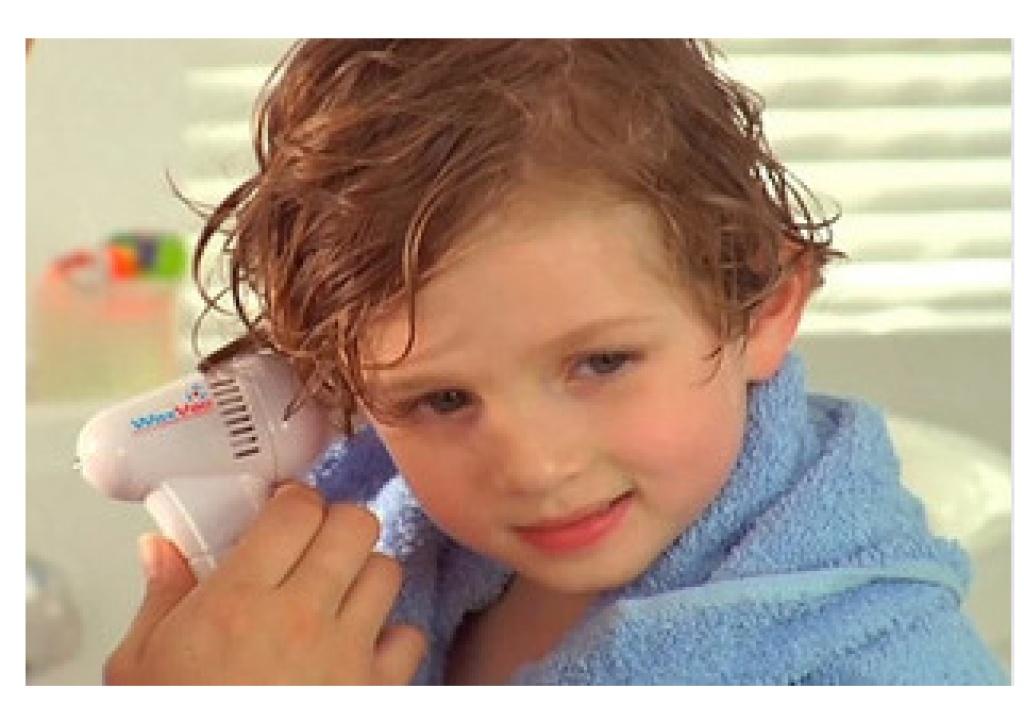 儿童掏发器使用图解