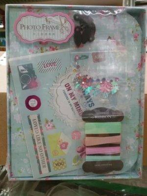 New Manual DIY High-grade 605683 Fresh Baby Family Couple Memorial Creative Holiday Birthday Gift Making Photo Frame