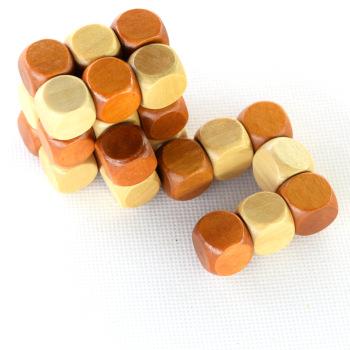 小神龙木制玩具成人解锁魔方