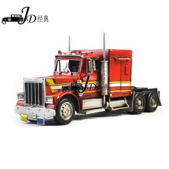 Iron art crafts optimus prime model furnishing home soft decoration gift collection manual car model