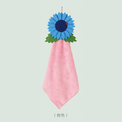 Leisure brand factory wholesale new sunflower towel home fashion gift towel with hand towels