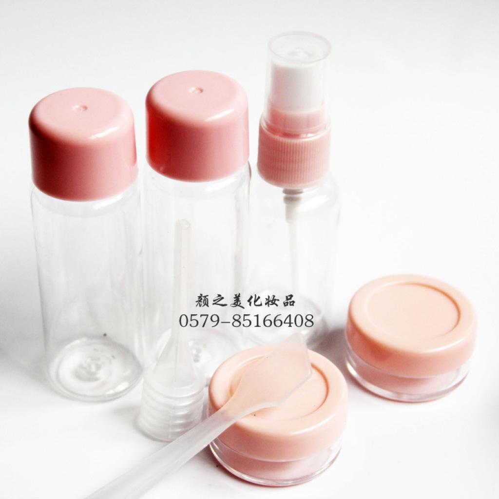 便携带旅行套瓶 化妆品分装瓶套装 塑料空瓶子按压瓶喷1500