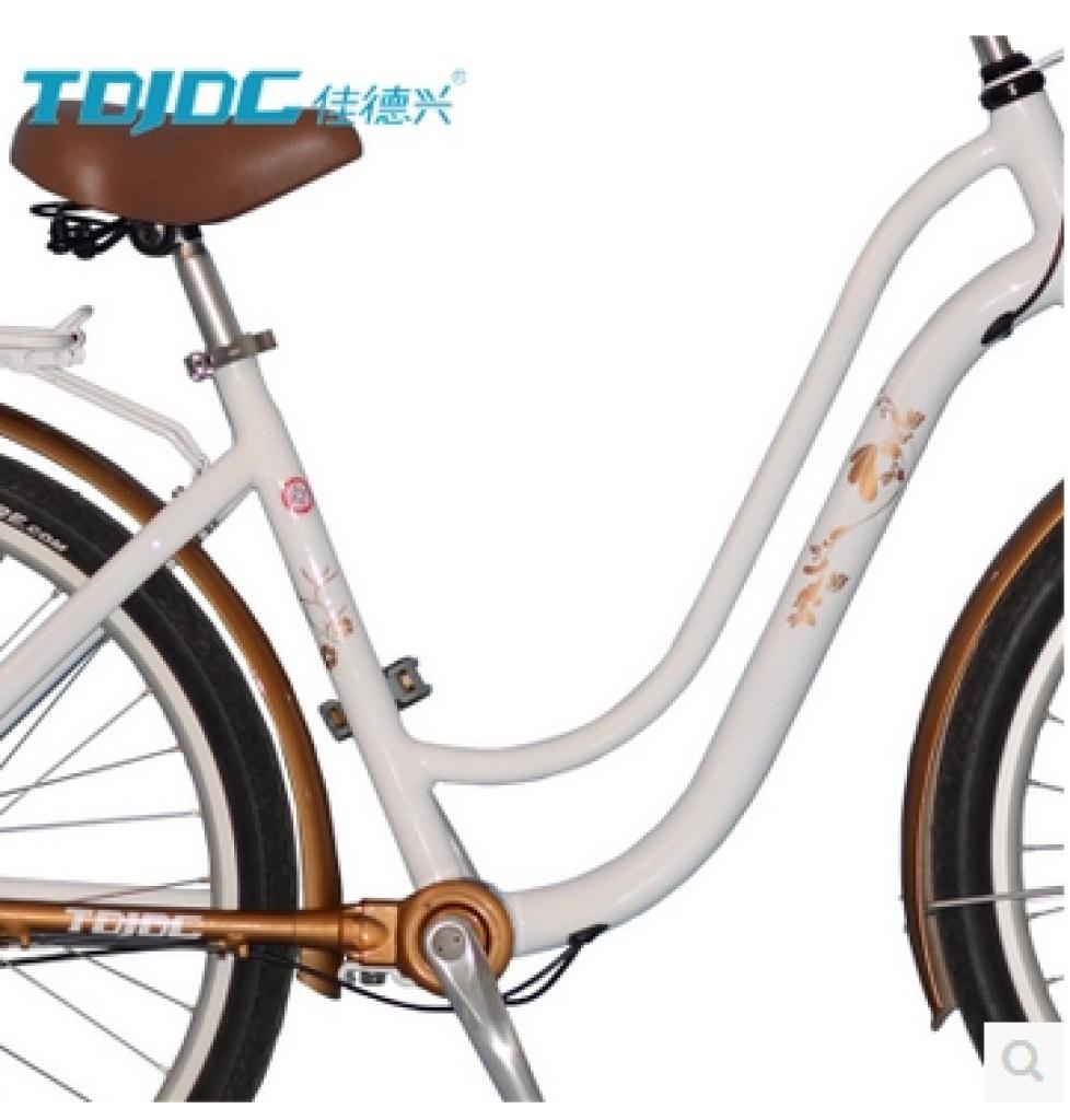 无链条男女式城市复古公主休闲轴传动通勤自行车