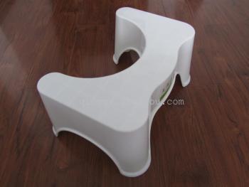 加厚塑料马桶凳 浴室防滑垫脚凳