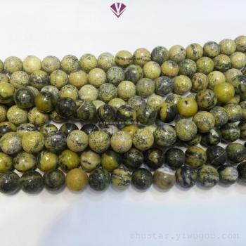 Accessories DIY stone crafts 8mm natural stone beads ponderosa