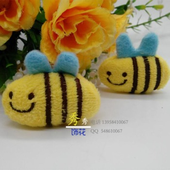 Manufacturers selling plush cartoon bee children's clothing accessories shoes cap socks accessories sales
