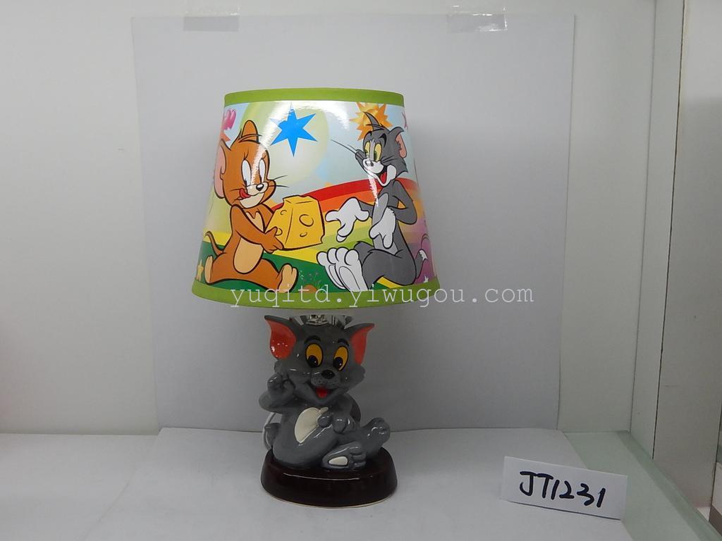 儿童台灯 卡通台灯 陶瓷台灯 动物台灯 创意台灯 学习台灯
